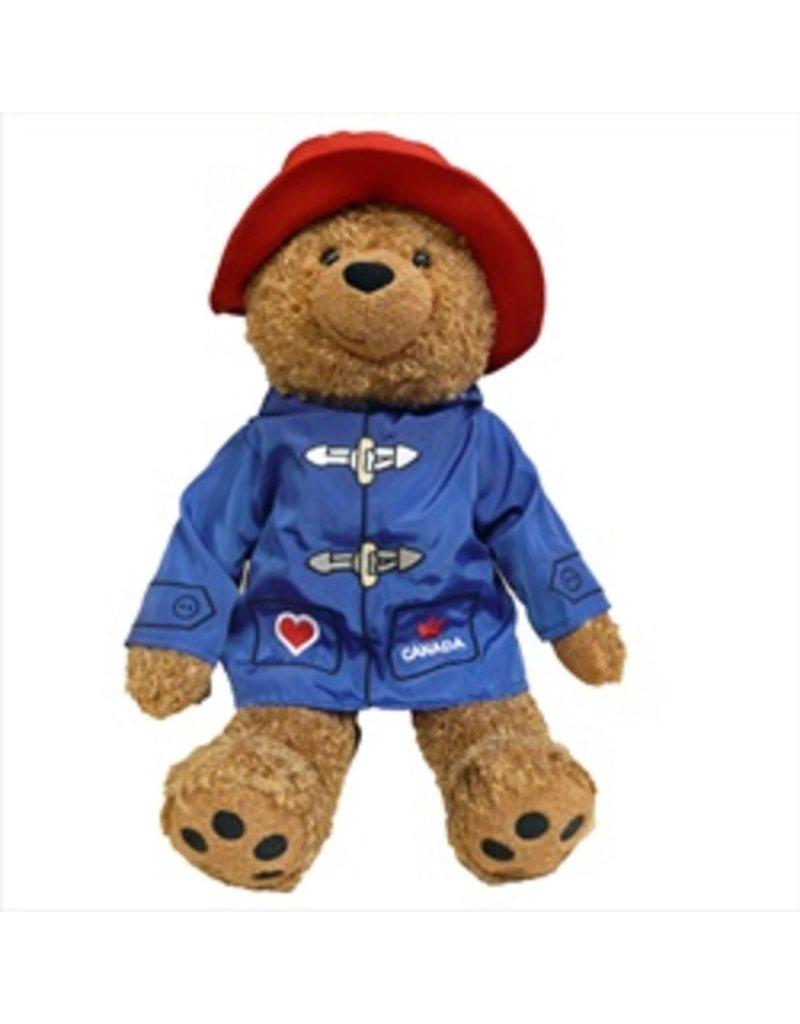 "Paddington Bear 14"" With Blue Jacket"