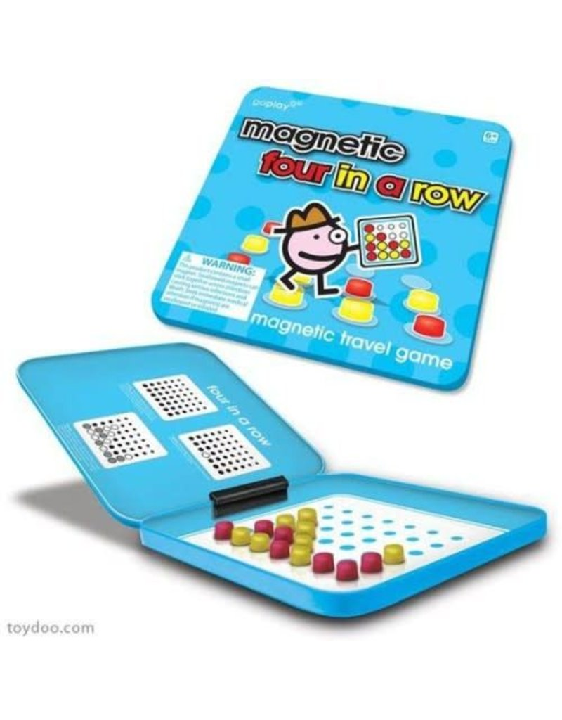 Toysmith Magnetic Four In A Row Travel Game