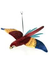 """Hansa Flying Scarlet Macaw 30"""""""