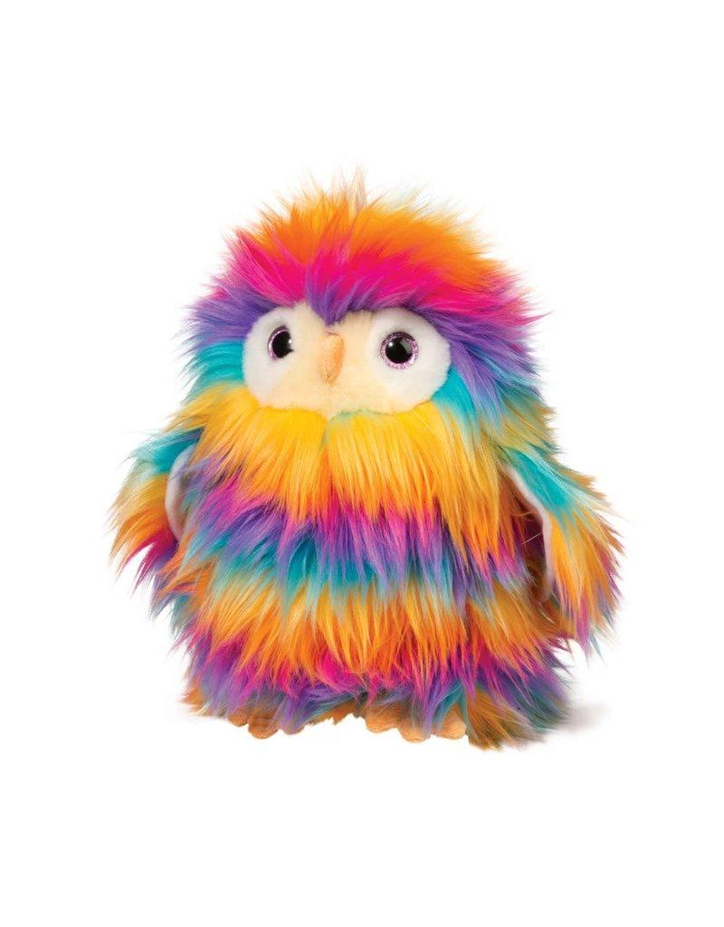 Izzy Rainbow Fuzzle Owl