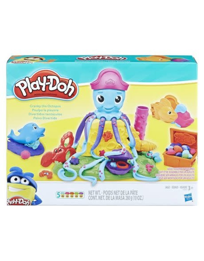 Play Doh - Cranky The Octopus