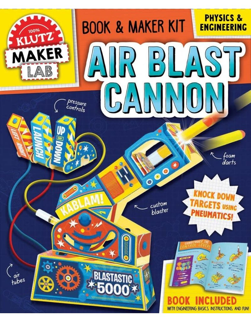 Klutz Maker Lab: Air Blast Cannon