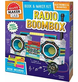 Klutz Maker Lab: Radio Boombox
