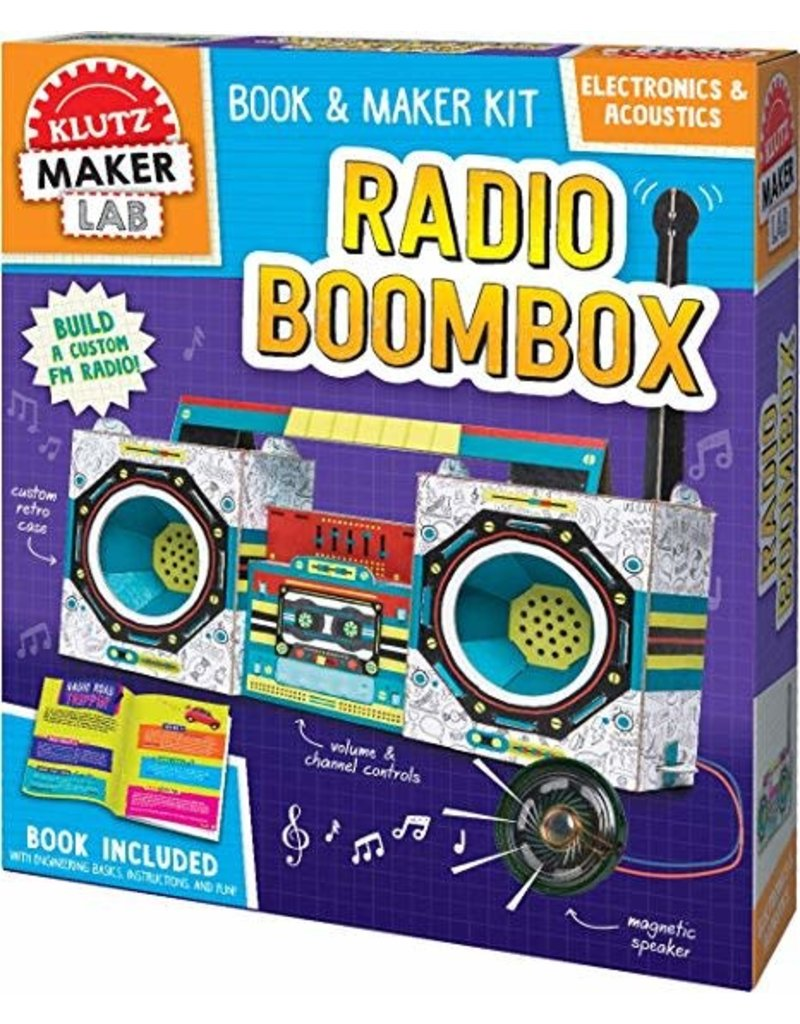 Klutz Maker Lab: Radio Boombox