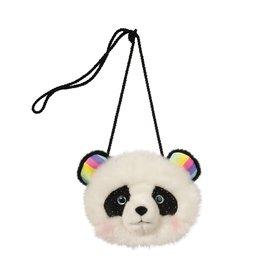 Panda Fur Fuzzle Crossbody