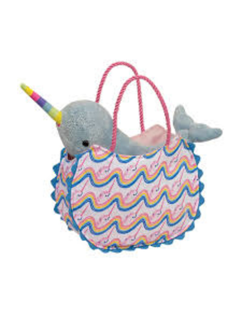 Rainbow Narwhal Sak With Narwhal