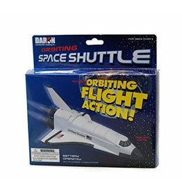 Flying Space Shuttle On A String