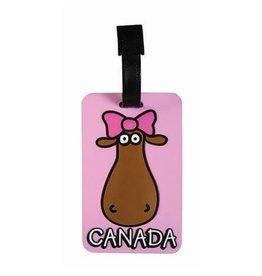 Luggage Tag - Miss Moose