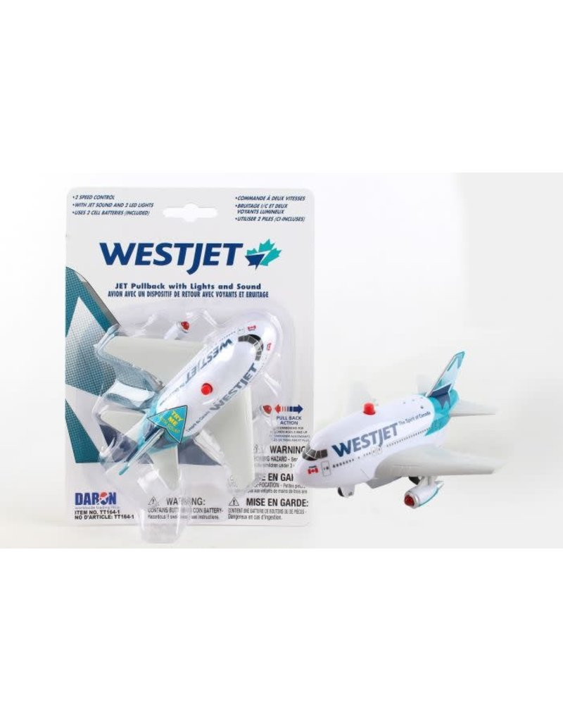 WestJet Pullback W/Light & Sound New Livery