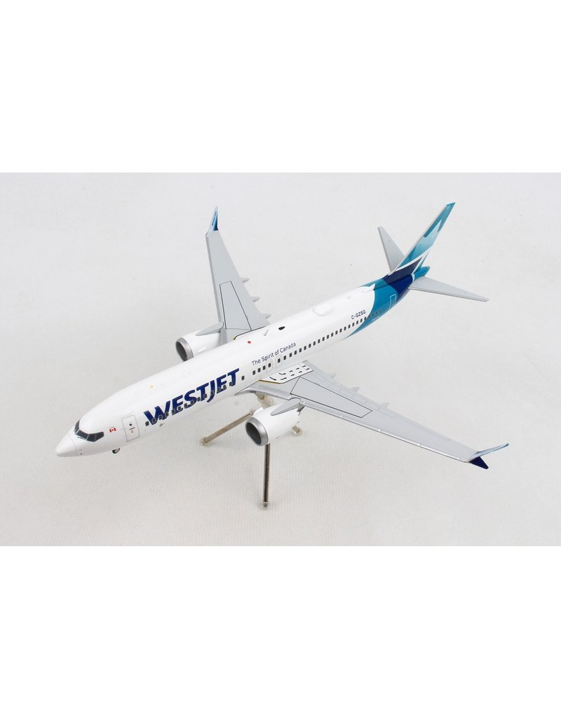 GEMINI200 WESTJET 737MAX8 1/200 NEW LIVERY
