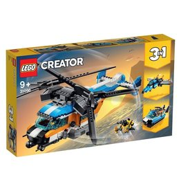 LEGO Twin-Rotor Helicopter