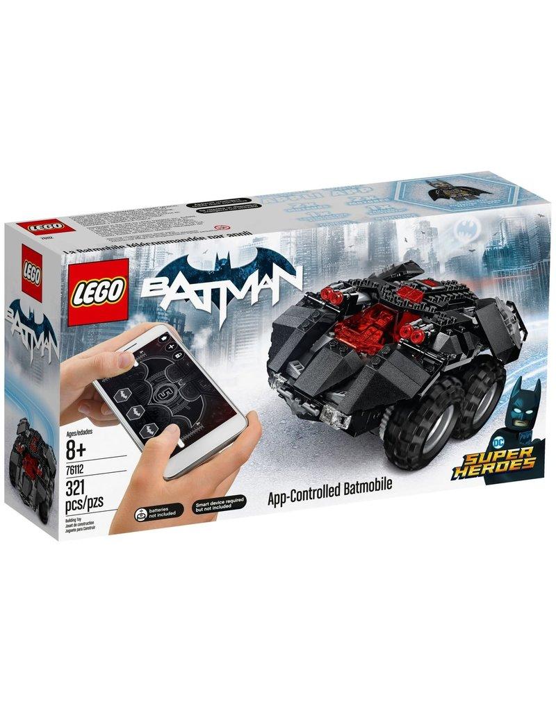 LEGO App-Controlled Batmobile