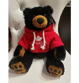 "SA BLACK BEAR SCHATZI 12"" with hoodie"