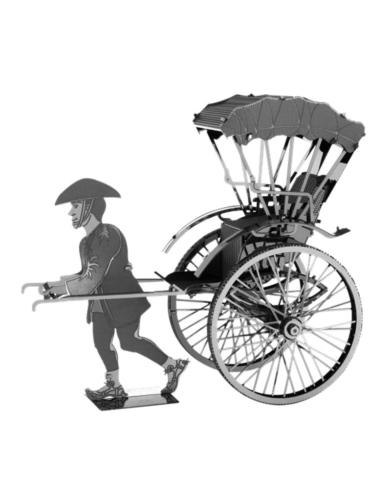 Metal Earth Rickshaw