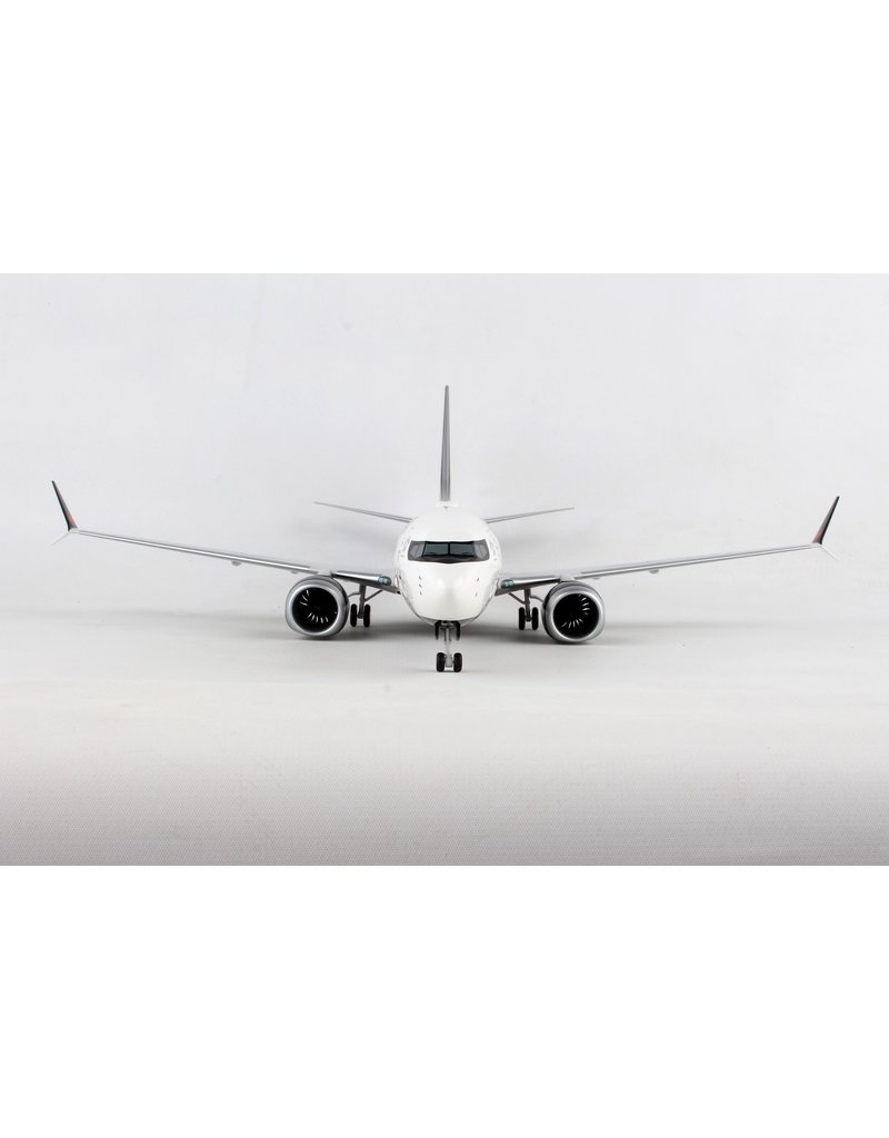 Air Canada 737Max8 1/100 W/Wooden stand