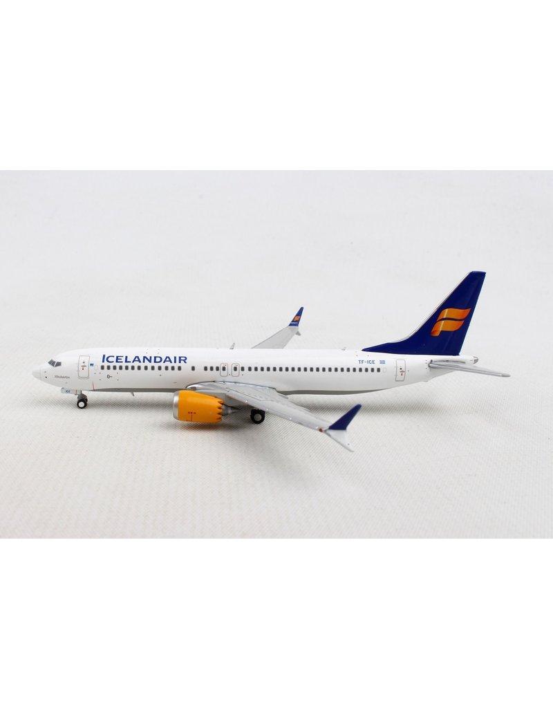 GeminiIcelandair737Max81/400NewLivery