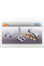 Best Lock Space Shuttle 513 Pieces Construction Toy