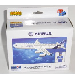 Best Lock Airbus A380 55 Pieces Construction Set