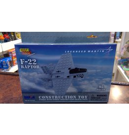 F-22 RAPTOR 95 PIECE CONSTRUCTION TOY