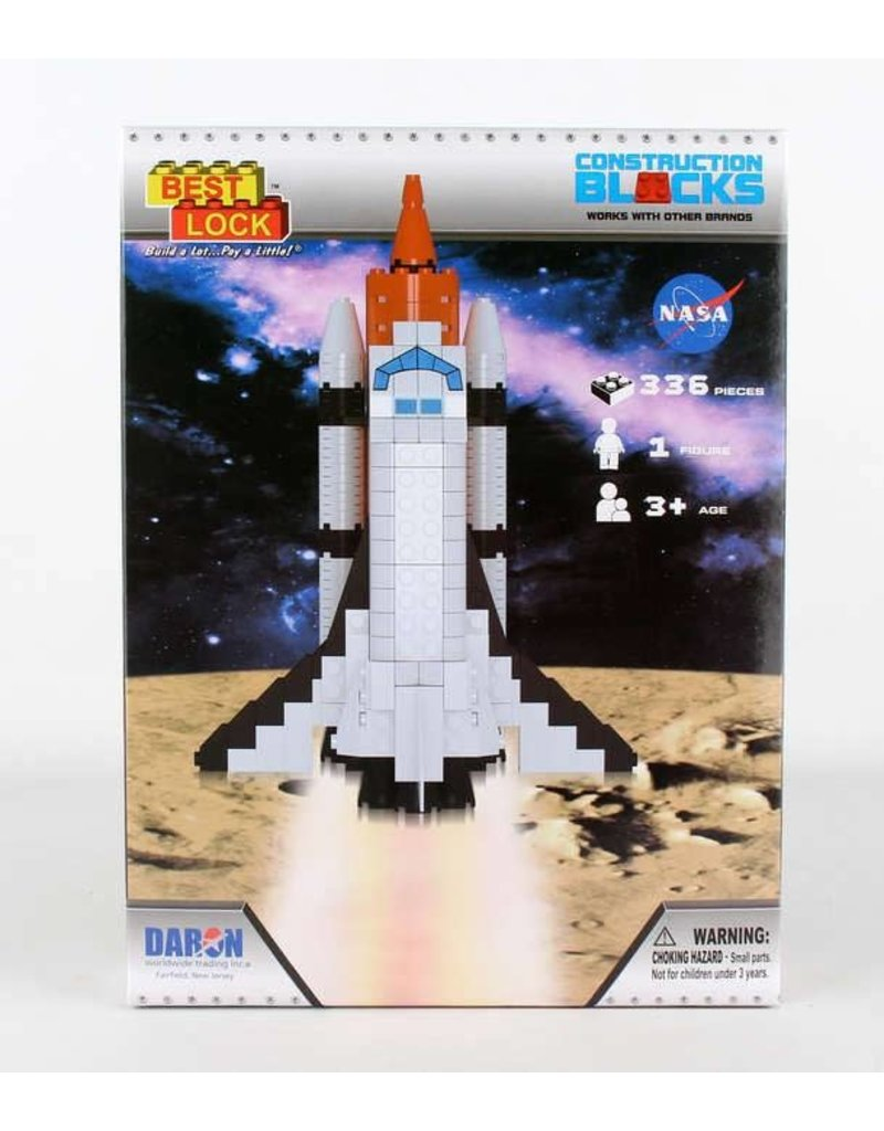 Space Shuttle 336 Piece Construction Toy