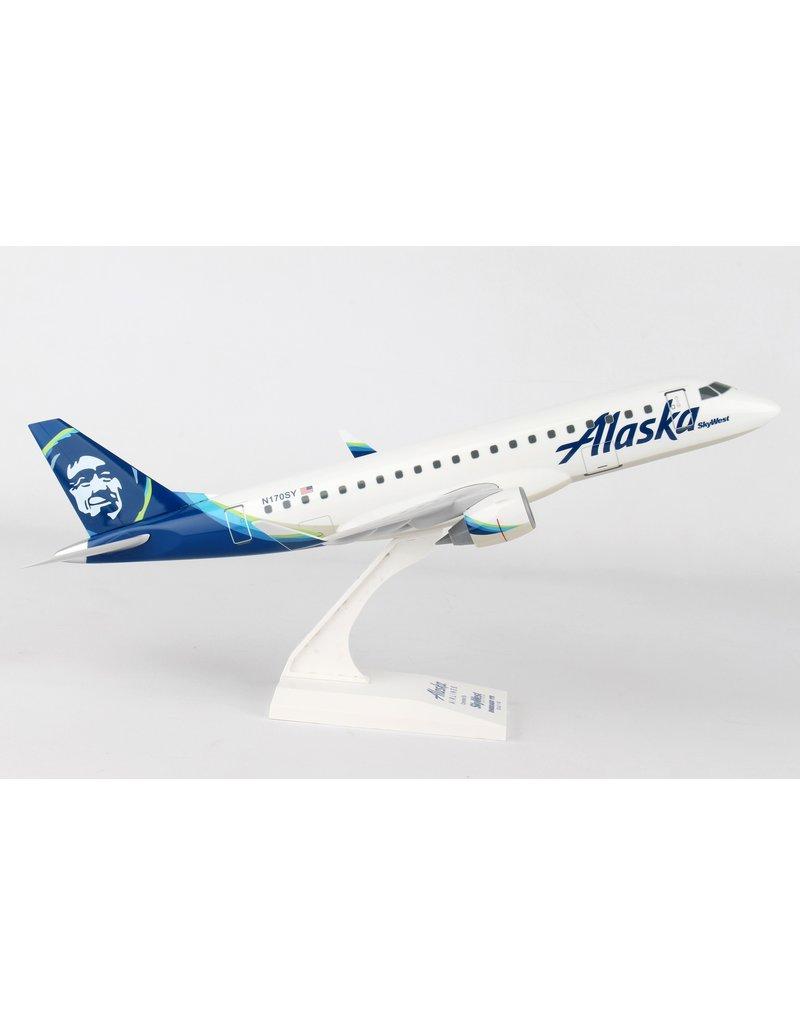 Skymarks Alaska E175 1/100 Skywest New