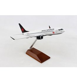 Skymarks Air Canada 737Max8 1/130 W/Wood