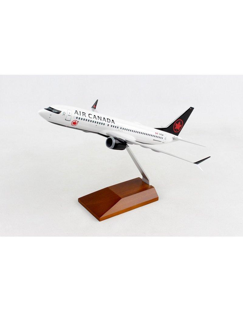 Skymarks Air Canada 737Max8 1/130 W/Wood