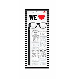 MENS GLASSES PENCIL TOPPERS