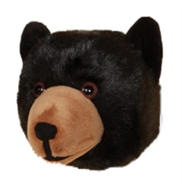 Black Bear Head Large