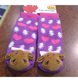 Stone Age Miss Moose Socks 0-36 Months