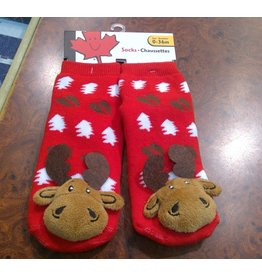 Stone Age Goofy Moose Socks 0-36 Months