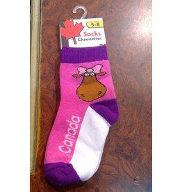 Stone Age Miss Moose Socks 5-8