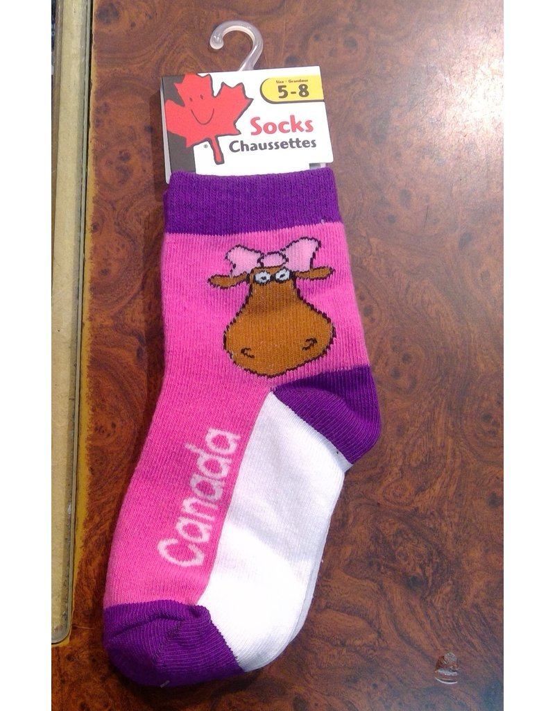 Stone Age Miss Moose Socks 5-8