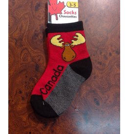Stone Age Goofy Moose Socks 3-5