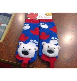 Stone Age Polar Bear Socks 0-36 Months