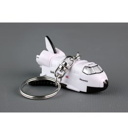 Space Shuttle Keychain W/Light & Sound-Discovery