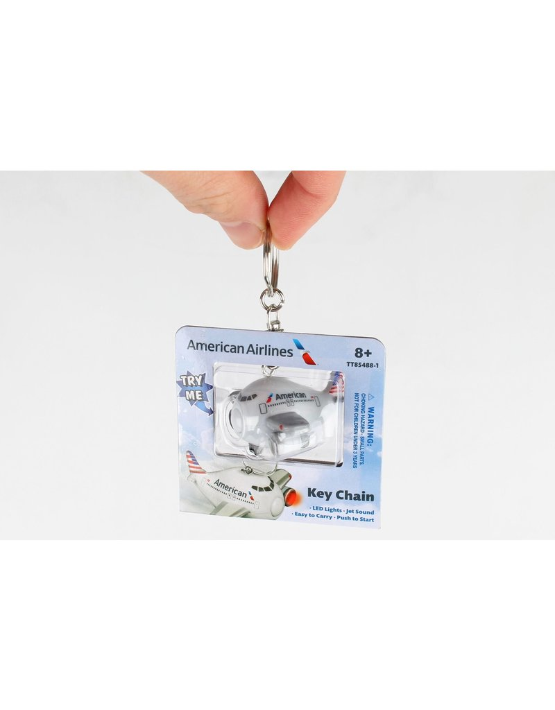 American Airlines Keychain W/Light & Sound