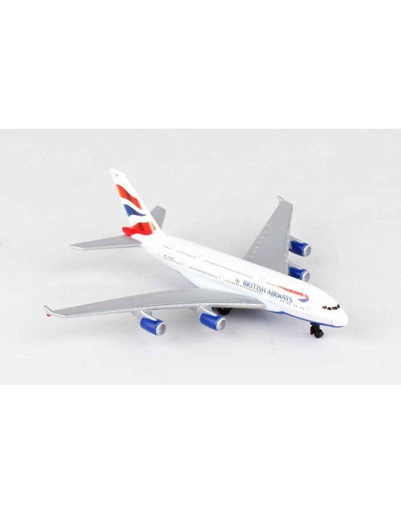 British Airways A380 Single Plane