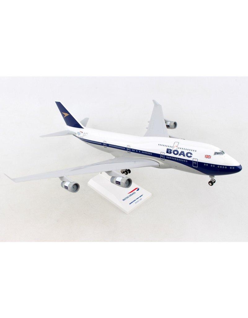 Skymarks British 747-400 1/200 W/Gear Boac 100