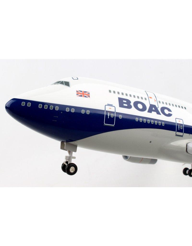 Skymarks British Airways 747-400 1/200 W/Gear Boac 100