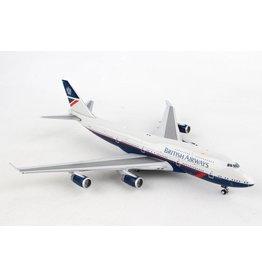 Gemini British 747-400 1/400 Landor Reg#G-Bnly