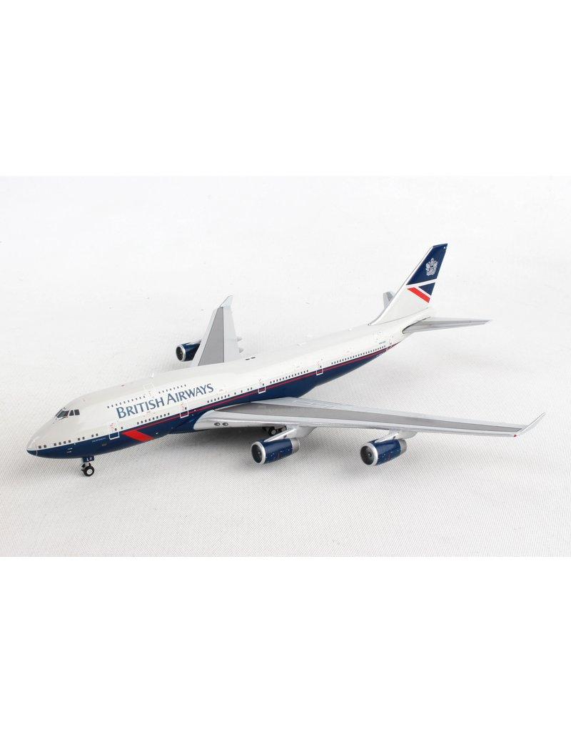 Gemini British Airways 747-400 1/400 Landor Reg#G-Bnly