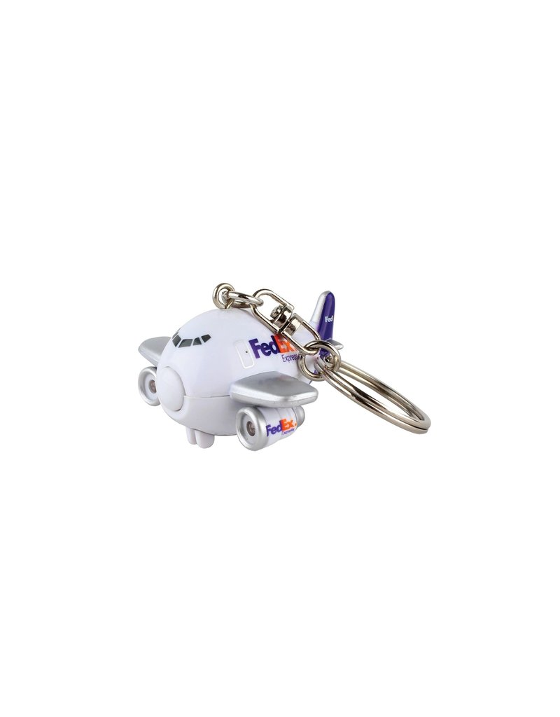 Fedex Express Airplane Keychain W/ Lights &