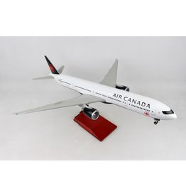 Skymarks Air Canada 777-300 1/100 W/Wood