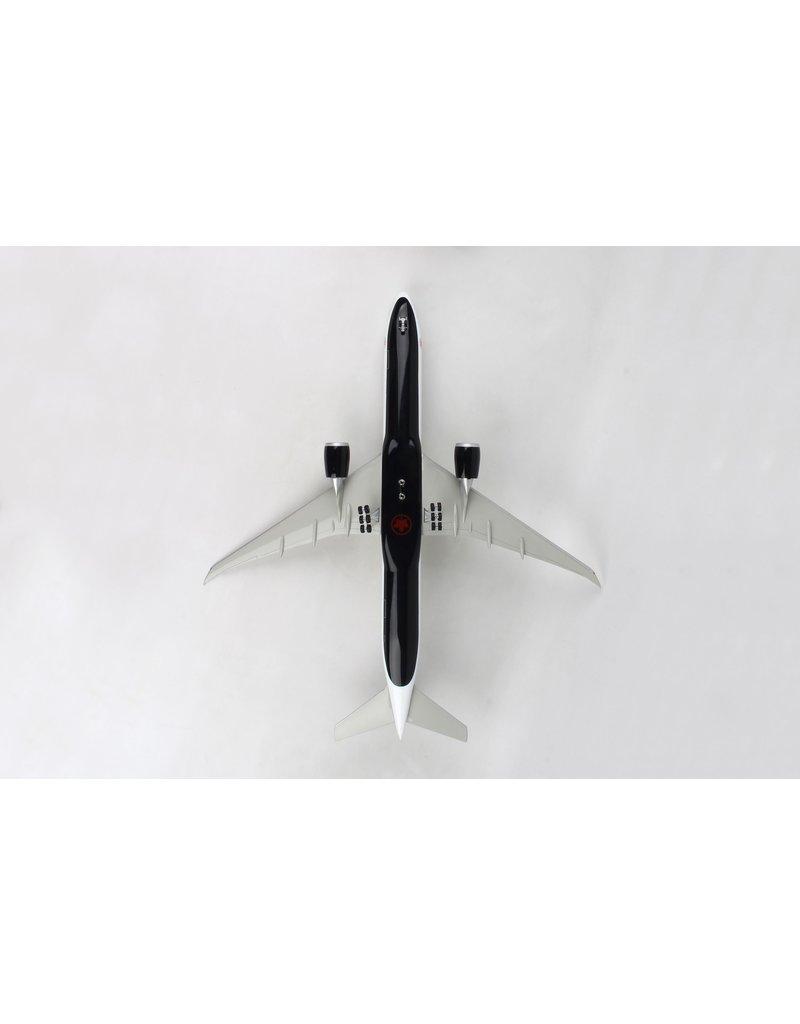 Skymarks Air Canada 777-300 1/100 W/Wood