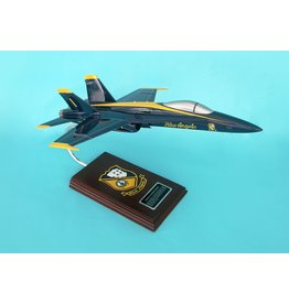 Exec Ser F/A-18A Blue Angels Navy 1/38