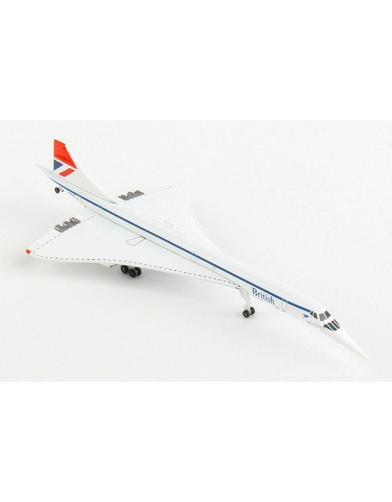Herpa British Airways Concorde 1/500 Negus