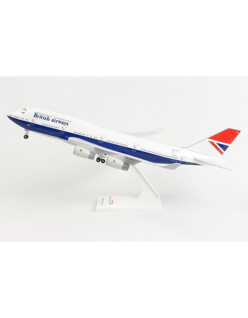 Skymarks British Airways 747-400 1/200 W/Gear Negus