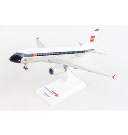 Skymarks British A319 1/150 W/Gear Bea Retro Livery