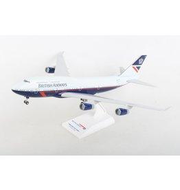 Skymarks British 747-400 1/200 W/Gear Landor